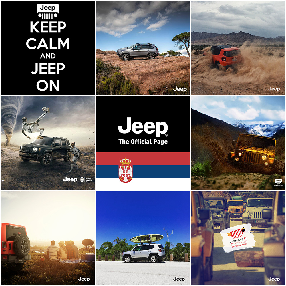 Jeep IG collage
