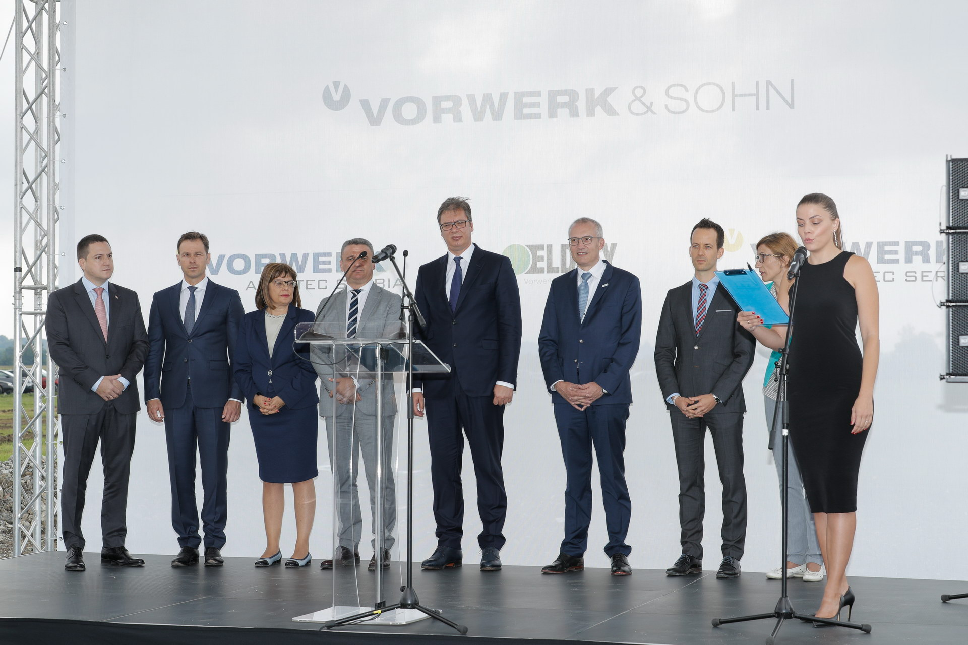Vorwerk Groundbreaking Ceremony