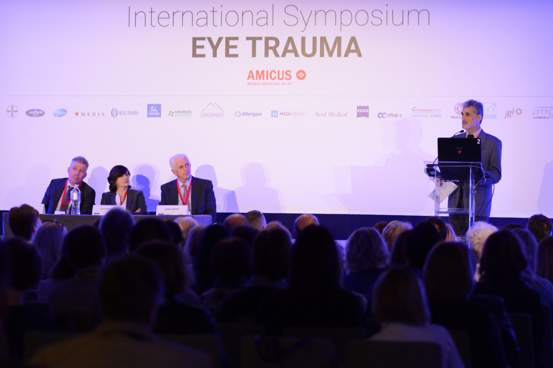 Miloš Klinika International Symposium Eye Trauma